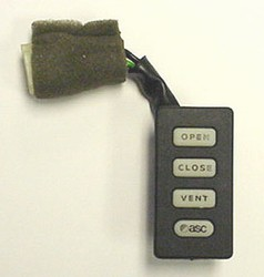 750/800/840/925 Sunroof Open/Close/Vent Switch by ASC Inalfa