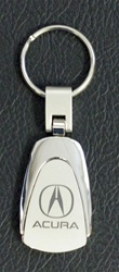 Acura Key Chain - Stainless Steel Teardrop style