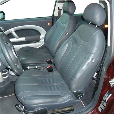 Mini Cooper BASE Hatchback Katzkin Leather Seat Upholstery, 2002, 2003, 2004, 2005, 2006