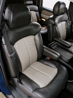 2002 Chevrolet Tahoe Katzkin Leather Upholstery