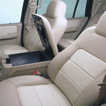 Ford Expedition Katzkin Leather Seat Upholstery, 2003, 2004, 2005, 2006 (2 passenger front seat, 3 row)