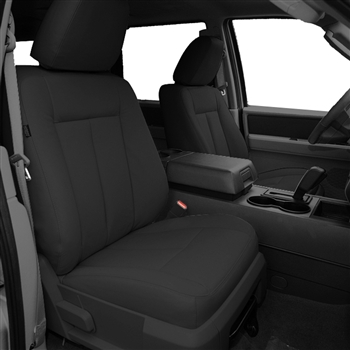 Ford Expedition Katzkin Leather Seat Upholstery, 2003, 2004, 2005, 2006 (3 passenger front seat, 3 row)