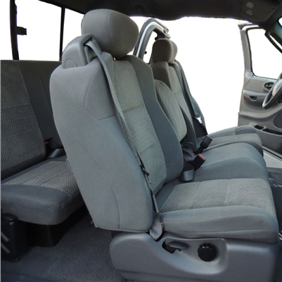 Ford F150 Super Cab Katzkin Leather Seat Upholstery, 2002.5 (LB 3 passenger front seat, slip cover)