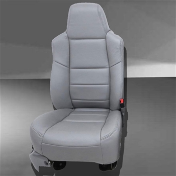 Ford Excursion Katzkin Leather Seat Upholstery, 2002, 2003, 2004, 2005 (2 passenger front seat)