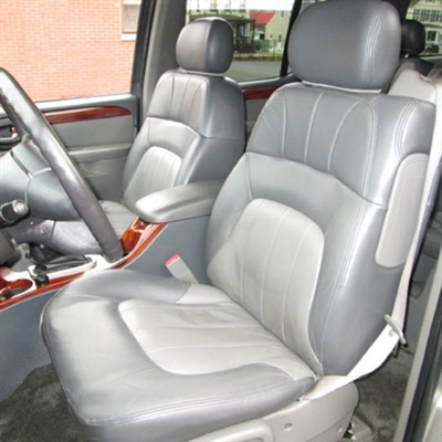 GMC Envoy XL Katzkin Leather Seat Upholstery, 2002