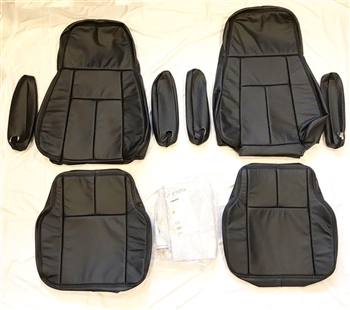 2003, 2004, 2005, 2006 CHEVROLET KODIAK REGULAR CAB with AIR RIDE SEAT Katzkin Leather Upholstery