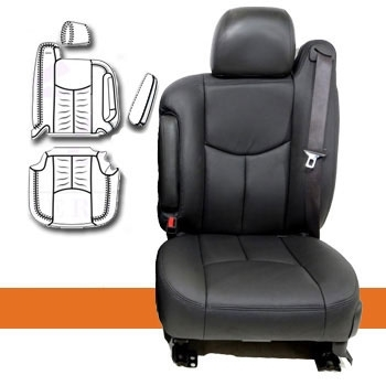 GMC Yukon Katzkin Leather Seat Upholstery, 2003, 2004, 2005, 2006