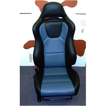 MITSUBISHI LANCER EVOLUTION VII & VIII Katzkin Leather Seat Upholstery, 2003, 2004