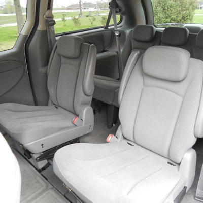 2005, 2006, 2007 DODGE CARAVAN BASE Katzkin Leather Upholstery