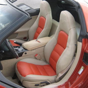 2005, 2006, 2007, 2008, 2009, 2010, 2011 Chevrolet Corvette Coupe / Convertible Katzkin Leather Upholstery