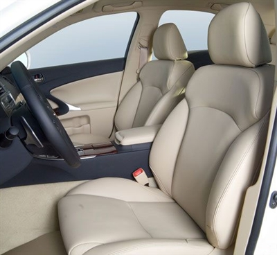 LEXUS IS250 / IS350 Sedan Katzkin Leather Seat Upholstery, 2006, 2007, 2008