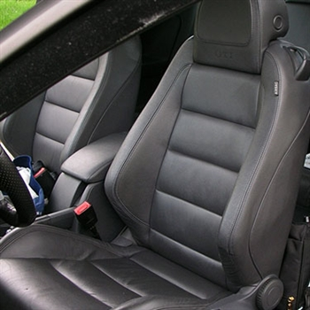 VOLKSWAGEN RABBIT 2 Door Katzkin Leather Seat Upholstery, 2006, 2007, 2008, 2009