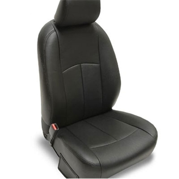 2007, 2008 Toyota Yaris Base / S Sedan Katzkin Leather Upholstery