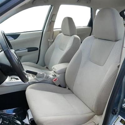 SUBARU IMPREZA OUTBACK WAGON 2.5i 5 Door Katzkin Leather Seat Upholstery (low back buckets), 2008, 2009, 2010