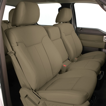 Ford F150 Regular Cab XLT Katzkin Leather Seat Upholstery, 2009
