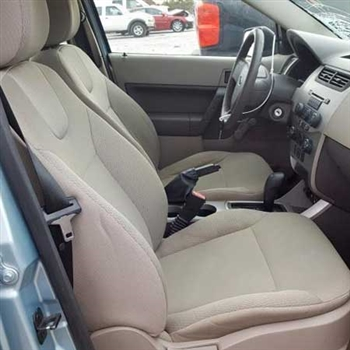 2009 Ford Focus S / SE / SES, COUPE / SEDAN Katzkin Leather Upholstery
