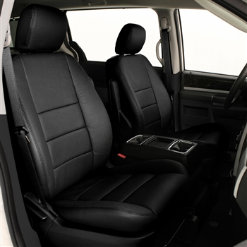 2010 DODGE CARAVAN SE Katzkin Leather Upholstery