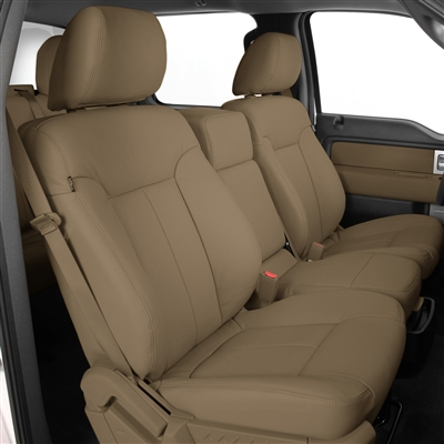2010 Ford F150 Super Cab XLT Katzkin Leather Upholstery