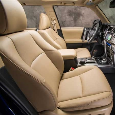 Toyota 4Runner SR5 Katzkin Leather Seat Upholstery, 2010, 2011, 2012, 2013, 2014 (with manual front seats, with third row seat)