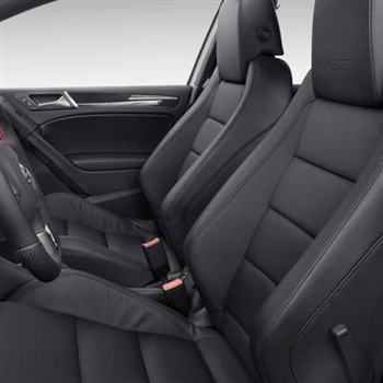 VOLKSWAGEN GTI 4 Door Katzkin Leather Seat Upholstery, 2010