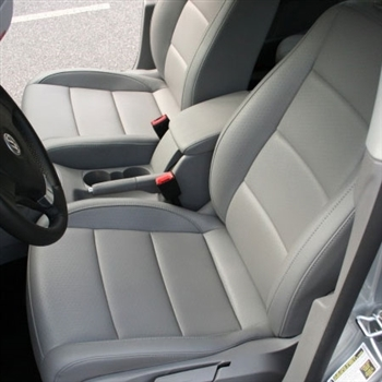 VOLKSWAGEN JETTA TDI Sedan (Cup Edition) Katzkin Leather Seat Upholstery, 2010