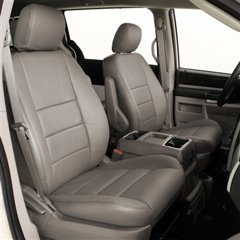 CHRYSLER TOWN & COUNTRY Katzkin Leather Seat Upholstery, 2011, 2012, 2013, 2014, 2015, 2016 (STO-N-GO middle)