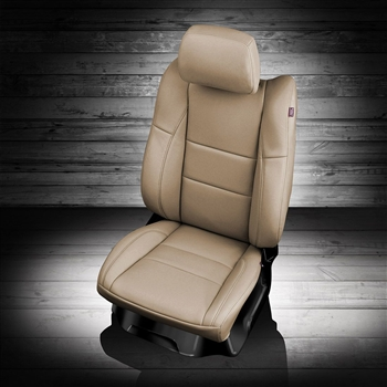 Dodge Durango Express / Crew / Heat Katzkin Leather Seat Upholstery, 2011, 2012, 2013, 2014, 2015, 2016, 2017 (3 passenger middle row, with third row)