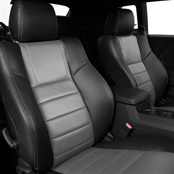 Dodge Challenger BASE, SE, SXT, RT Katzkin Leather Seat Upholstery, 2011, 2012, 2013, 2014