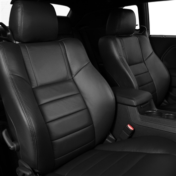 Dodge Challenger SRT8 Katzkin Leather Seat Upholstery, 2011, 2012, 2013, 2014