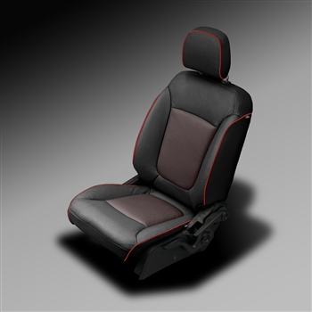 Dodge Journey RT / EXPRESS / MAINSTREET Katzkin Leather Seat Upholstery, 2011, 2012, 2013, 2014, 2015, 2016, 2017 (with fold flat passenger seat, without third row)