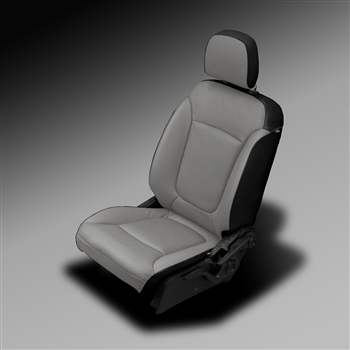 Dodge Journey RT / EXPRESS / MAINSTREET Katzkin Leather Seat Upholstery, 2011, 2012, 2013, 2014, 2015, 2016, 2017, 2018 (without fold flat passenger seat, with third row)