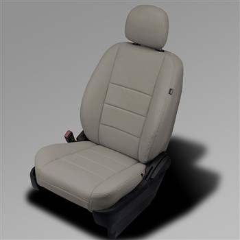 DODGE CARAVAN EXPRESS / MAINSTREET Katzkin Leather Seat Upholstery, 2011, 2012, 2013, 2014, 2015, 2016, 2017, 2018 (with front active headrests, STO-N-GO middle)