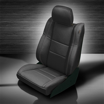 Jeep Grand Cherokee Katzkin Leather Seat Upholstery, 2011, 2012, 2013, 2014, 2015, 2016, 2017, 2018 (flat design)