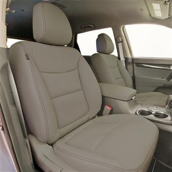 KIA SORENTO LX EX Katzkin Leather Seat Upholstery 2011 2012 2013 With Third Row Seating