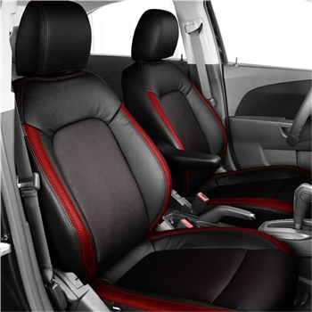 CHEVROLET SONIC LS / LT SEDAN / HATCHBACK Katzkin Leather Seat Upholstery, 2012, 2013, 2014, 2015, 2016