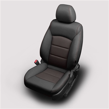 Chevrolet Cruze LS / LT Eco Sedan Katzkin Leather Seat Upholstery, 2012, 2013, 2014, 2015 (with slip cover front seat, with rear center armrest)