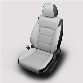 Chevrolet Cruze Eco Sedan Katzkin Leather Seat Upholstery, 2012, 2013, 2014, 2015 (with open back front seat, without rear center armrest)