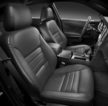 Dodge Charger SE / SXT Katzkin Leather Seat Upholstery, 2012, 2013, 2014 (base buckets)