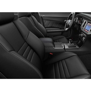 Dodge Charger SXT / RT Katzkin Leather Seat Upholstery, 2012, 2013, 2014 (sport buckets)