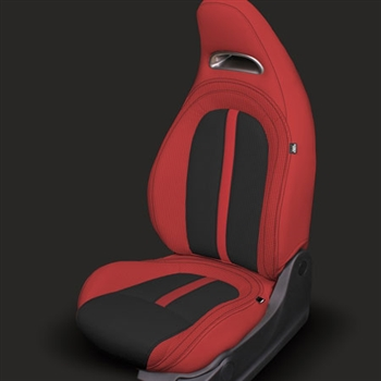 FIAT 500 ABARTH Katzkin Leather Leather Seat Upholstery, 2012, 2013