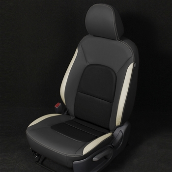 KIA RIO SEDAN LX / EX / SX Katzkin Leather Seat Upholstery, 2012, 2013, 2014, 2015, 2016