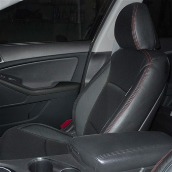 KIA OPTIMA EX / LX / SX Katzkin Leather Seat Upholstery, 2012, 2013, 2014, 2015