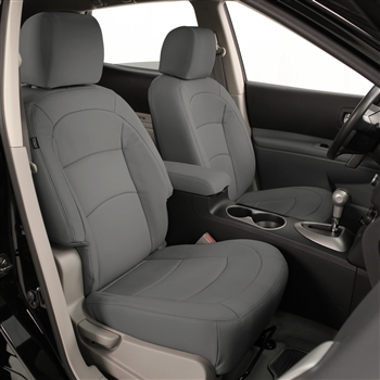 Nissan Rogue SELECT S / SL Katzkin Leather Seat Upholstery, 2014, 2015 (without fold flat passenger seat)