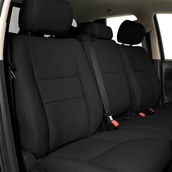 TOYOTA SEQUOIA SR5 Katzkin Leather Seat Upholstery, 2012, 2013, 2014 (electric driver seat, with fold flat passenger seat)