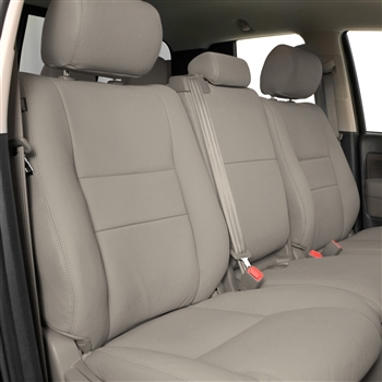 TOYOTA SEQUOIA SR5 Katzkin Leather Seat Upholstery, 2012, 2013, 2014 (electric driver seat, without fold flat passenger seat)