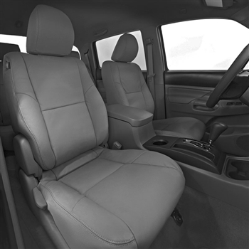 Toyota Tacoma ACCESS CAB Katzkin Leather Seat Upholstery, 2012, 2013, 2014, 2015 (with passenger fold flat seat)