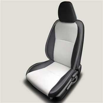 Toyota Yaris LE 3 and 5 door Hatchback Katzkin Leather Seat Upholstery, 2012, 2013, 2014, 2015, 2016