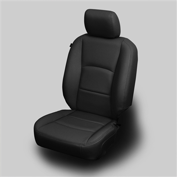 Dodge Ram MEGA CAB 2500 / 3500 BIG HORN Katzkin Leather Seat Upholstery, 2013, 2014, 2015, 2016, 2017 (with front seat SRS airbags)