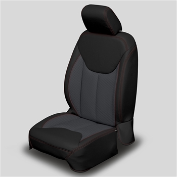 Jeep Wrangler 2 Door Katzkin Leather Seat Upholstery, 2013, 2014, 2015, 2016, 2017, 2018 (with front seat SRS airbags)