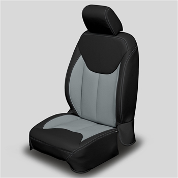 Jeep Wrangler 4 Door Katzkin Leather Seat Upholstery, 2013, 2014, 2015, 2016, 2017 (without front seat SRS airbags)